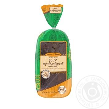 Kyivkhlib Prybaltiiskyi Rye-Wheat Dark Bread - buy, prices for Furshet - image 1