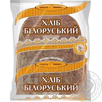 Хлеб Киевхлеб Белорусский подовый половинка 350г