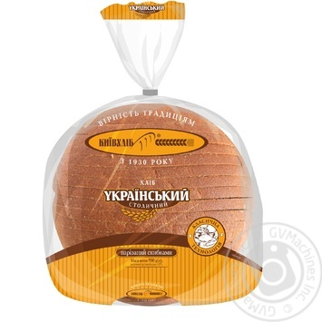 Хлеб КиевХлеб Украинский Столичный нарезанный 950г - купить, цены на Фуршет - фото 1
