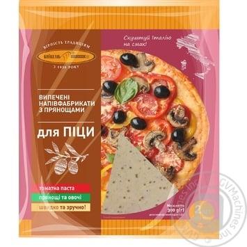 Полуфабрикат для пиццы Киевхлеб с пряностями 2шт, 300г - купить, цены на Novus - фото 1