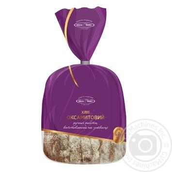 Хлеб Киевхлеб Бархатный половина нарезка 350г - купить, цены на Novus - фото 1