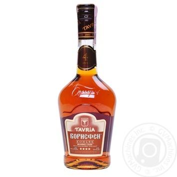 Tavria Borisfen 4 Yrs Cognac 40% 0,5ml - buy, prices for Tavria V - photo 3