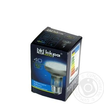 Лампа Искра электрическая прозрачная рефлекторная R63 40Вт Е27
