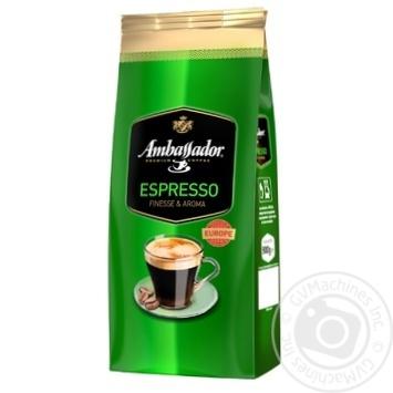 Кофе Ambassador Espresso в зернах 900г