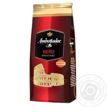 Кофе Ambassador Nero в зернах 900г