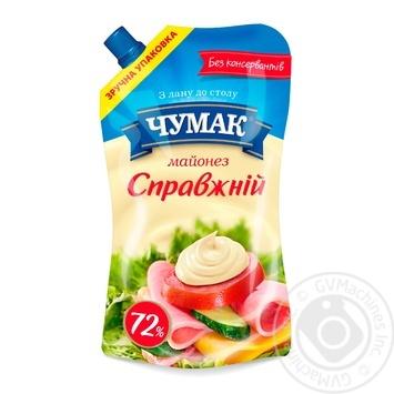 Майонез Чумак Настоящий 72% 350г