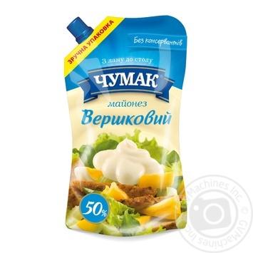 Чумак Майонез Сливочный 50% 350г