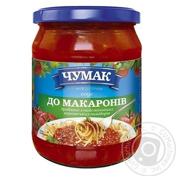Соус Чумак К макаронам 500г