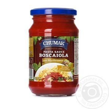 Соус Чумак Боскайола к спагетти с грибами 340г