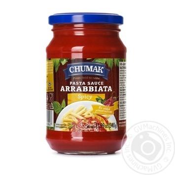 Соус Чумак Аррабіата до спагетті з гострим перцем 340г