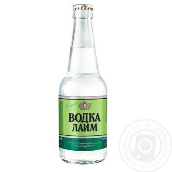 Напій Оболонь Водка Лайм слабоалкогольний сильногазований 0,33л скло - купити, ціни на Novus - фото 2