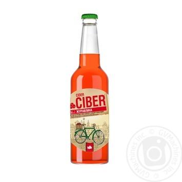 Ciber semi-sweet cranberry cider 0,5l - buy, prices for Novus - image 1