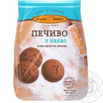 Печенье Киевхлеб С какао 360г - купить, цены на Фуршет - фото 1