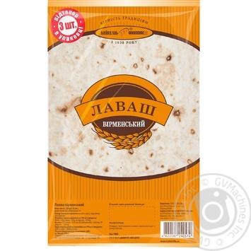 Kievkhlib Lavash Armenian 3pcs, 220g - buy, prices for MegaMarket - image 1