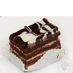 Cake Auchan Cardinal biscuit