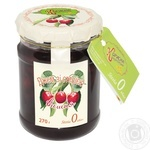 Jam Korysna kondyterska cherry for diabetics 270g glass jar