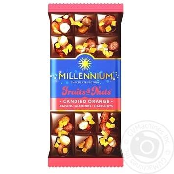 Millenium Fruits&Nuts dark сhocolate 80g