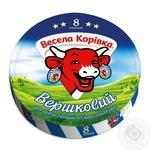 Сыр Веселая Коровка сливочный плавленый 8 порций 45% 140г