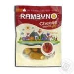 Сыр плавленый Rambyno копченый с ветчиной 75г