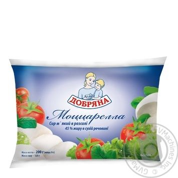 Dobryana Mozzarella Soft In Pickle Cheese - buy, prices for Auchan - image 2
