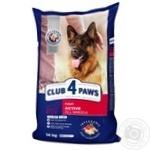 Корм сухий Club 4 Paws Преміум Актив для дорослих активних собак усіх порід 14кг