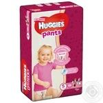 Huggies Panties Diapers for Girls 5 12-17kg 34pcs