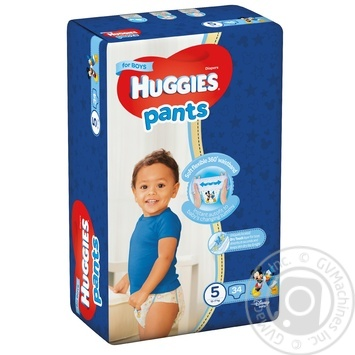 Huggies 5 boys Pants-diapers 12-17kg 34pcs - buy, prices for  Vostorg - image 1