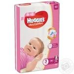 Huggies Ultra Comfort Girl 3 Baby Diapers - buy, prices for Novus - image 1