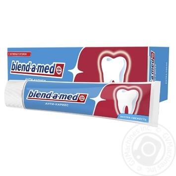 Blend-A-Med Anti-Karies Fresh Toothpaste 100ml - buy, prices for MegaMarket - image 2