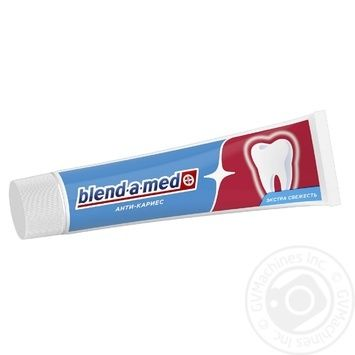 Blend-A-Med Anti-Karies Fresh Toothpaste 100ml - buy, prices for MegaMarket - image 4
