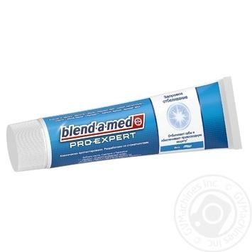 Зубная паста Blend-A-Med ProExpert Здоровое отбеливание Мята 100мл - купить, цены на Ашан - фото 2