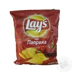 Lay's potato chips with paprika flavor 71g