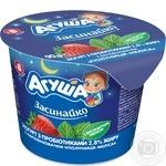 Йогурт детский Агуша Засинайко клубника-мелисса 2.8% 90г
