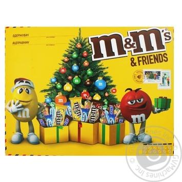 Набор подарочный M&M's & Friends Большая бандероль 329г