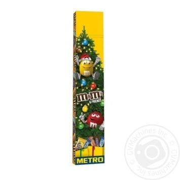 Набор подарочный M&M's & Friends Метро 922г