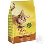Корм сухой Friskies С курицей и овощами для взрослых кошек 10кг