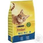 Корм сухий Friskies З лососем та овочами для дорослих котів 10кг