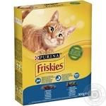 Корм Friskies С лососем и овощами для взрослых кошек 300г