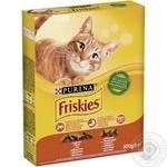 Корм Friskies С курицей и овощами для взрослых кошек 300г