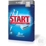 Tablet Start Classic for the dishwasher 100pcs