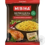 Mivina Hot Instant Noodles With Chicken Flavour 60g