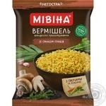 Вермишель Мивина со вкусом грибов 60г