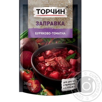 Torchin Tomato-Beet Cooking Base For Borshch 240g - buy, prices for Novus - image 4