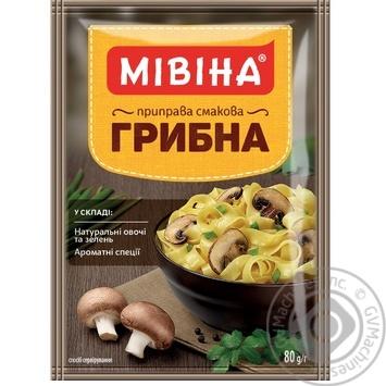 Приправа Мивина Грибная 80г - купить, цены на Novus - фото 1