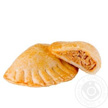 Пирожок Караимский с капустой 130г - купить, цены на Novus - фото 1