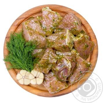 Шашлык свиной в маринаде охлажденный - купить, цены на Novus - фото 1