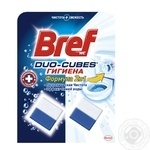 Bref Duo-Cube Cleaning cubes for the toilet 100g - buy, prices for Novus - image 1