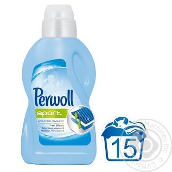 Гель Perwoll Спорт Активний догляд для делікатного прання спортивного одягу 900мл - купити, ціни на МегаМаркет - фото 2