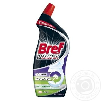 Bref Power 10in1 Gel for cleaning and disinfection of toilets Full protection 700ml - buy, prices for Novus - image 1