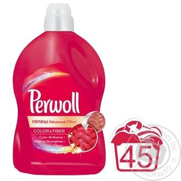 Perwoll Color&Fiber Laundry Detergent 2,7l - buy, prices for Novus - image 2